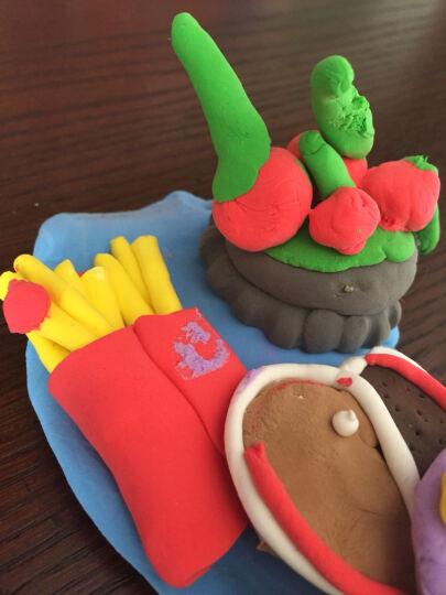 大贸商(DMSbuy)超轻3D彩泥粘土橡皮泥儿童DIY手工制作 泥刀工具6件套 晒单图