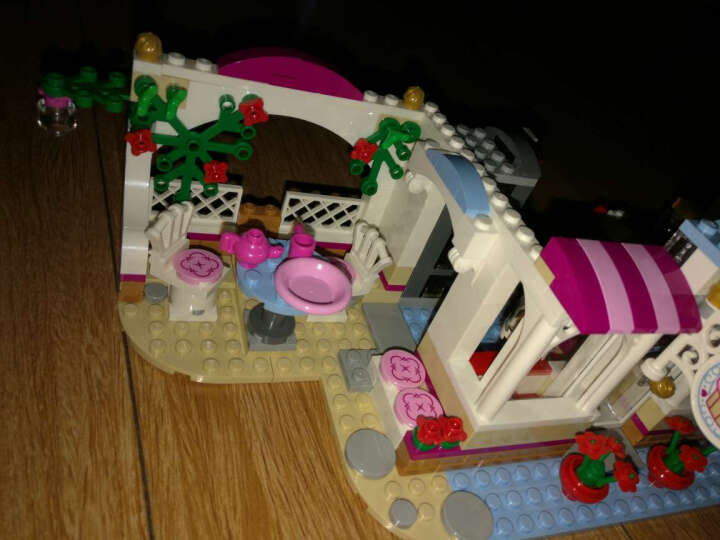 乐高官方旗舰店 LEGO Friends 好朋友系列 积木拼插玩具 6岁+ 心湖城纸杯蛋糕咖啡厅41119 晒单图