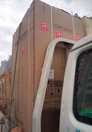 菲瑞柯(FRILEC)603升对开门冰箱 变频风冷无霜 电脑温控一级节能 德国品牌KGE61M2V  晒单图