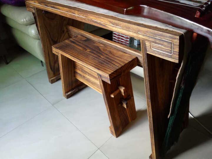 英悦 古琴桌凳,共鸣箱款基础款体双栓古琴桌/包邮 基础款加桌旗 晒单图
