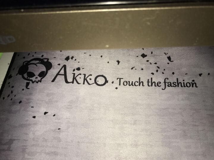 AKKO EDG梦魇鼠标垫 合作设计限量版 黑白 晒单图