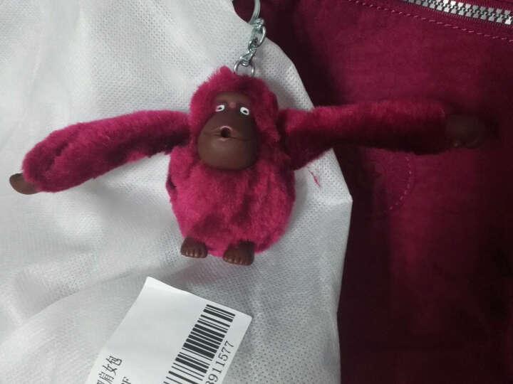 凯浦林(Kipling)毛绒小猴子挂饰双肩包土黄色K15016 78E 晒单图