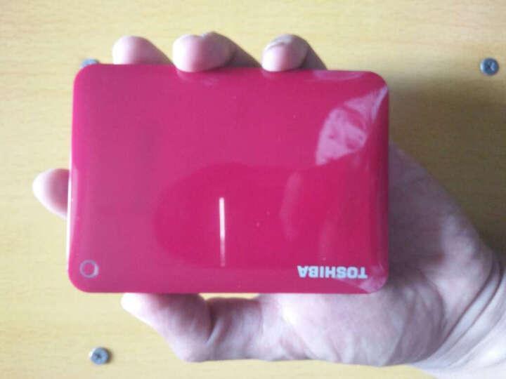 东芝(TOSHIBA)V8 CANVIO高端系列 2.5英寸 移动硬盘(USB3.0)3TB(活力红) 晒单图