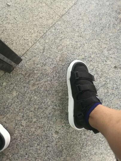 凉拖鞋夏季罗马凉鞋男士休闲运动个性学生青年防滑沙滩鞋户外越南凉鞋潮 黑色 41 晒单图