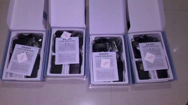宝锋(BAOFENG) 宝锋BF-888S对讲机 民用商用5w手台军用迷你微型自驾游大功 单机标配+多一个充电器+多配一块电池 晒单图