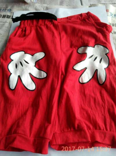道琪安0-11岁儿童套装两件套男女同款宝宝短袖童装夏季套装 幼儿园园服 小学班服 校服 黑衣+红裤 90cm(80-90cm(不褪色)) 晒单图