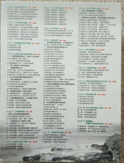 瑜伽大全(16+1)碟装(17DVD) 晒单图