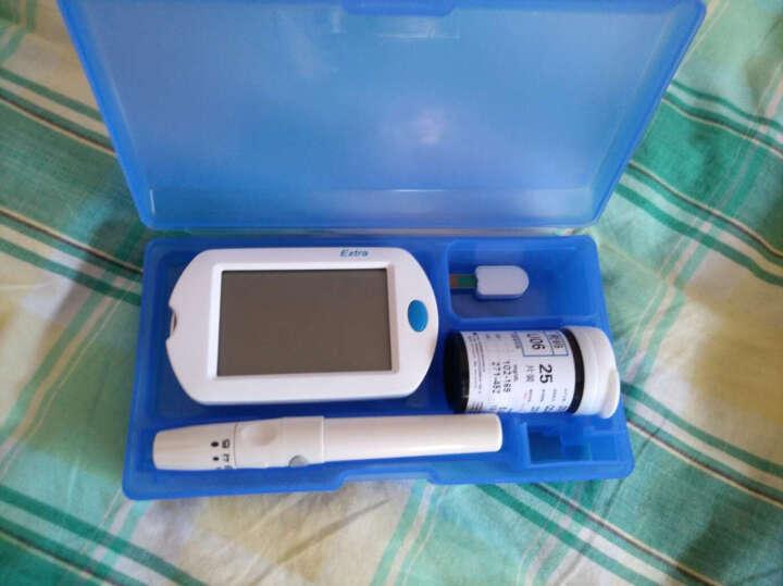 测利得 特优血糖仪GLM-75血糖试纸特优型GLS-75老人家用全自动智能特优试纸 300试纸+300针+300酒精棉片+仪器 晒单图