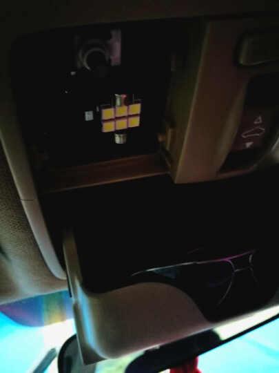 起亚K2K5K3K4福瑞迪led阅读灯改装专用k2k3阅读灯室内车顶气氛灯 K2K3K4白光-单个装 晒单图