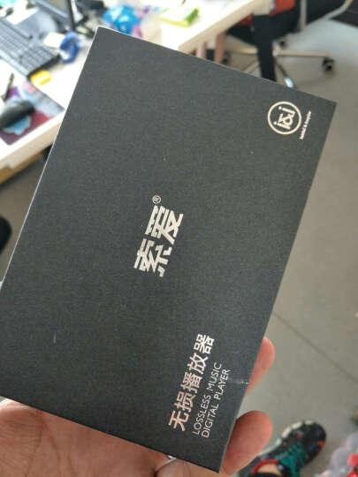 索爱(Soaiy)SA-768学生无损播放器MP3便携迷你HIFI随身听计步运动英语听力 玫瑰金官方标配 晒单图