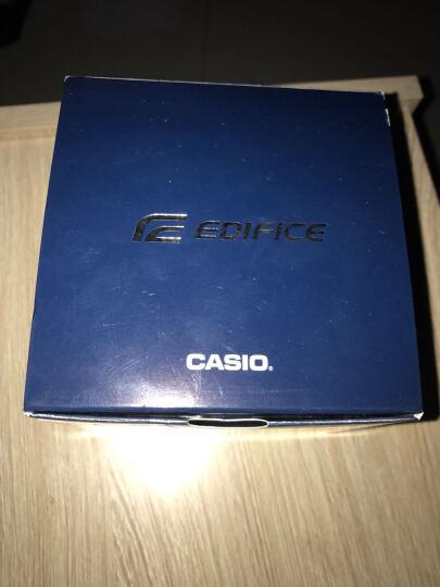 卡西欧(CASIO)手表 EDIFICE 人工合成蓝宝石玻璃商务男表 太阳能电波石英表 EQW-T640YDB-1A2 晒单图