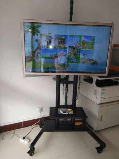 NB CA70(50-80英寸)液晶电视移动推车显示器触摸屏一体机广告机视频会议移动落地支架挂架 晒单图