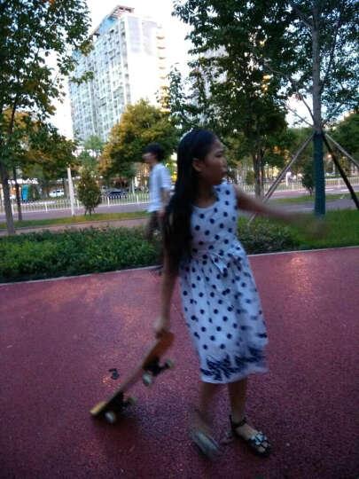 太子萨童装女童连衣裙夏装2018新款儿童裙子夏季公主裙女童中大童女装12 Q1623水蓝色 140 晒单图