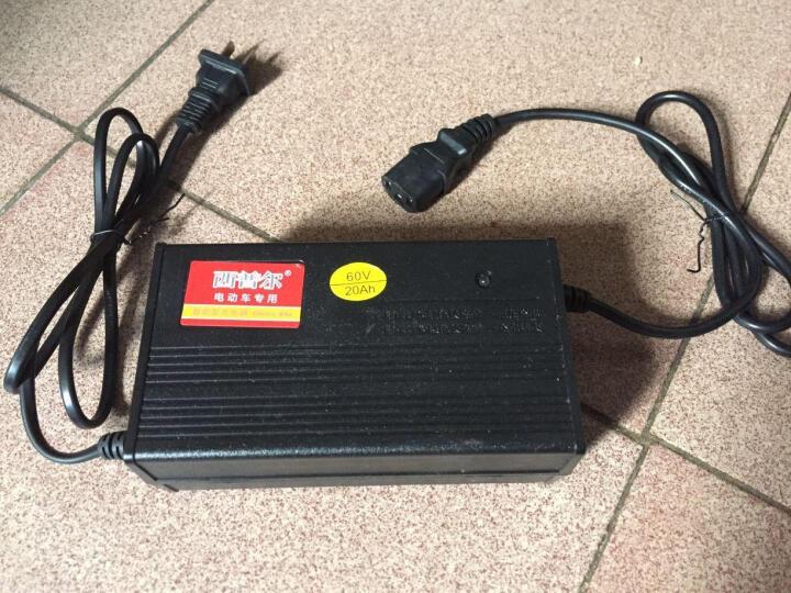 西普尔电动车充电器 电瓶车充电器48V/60V/72V三轮车电摩充电器 大功率 48V1.8A 适用于48V10-14A 晒单图