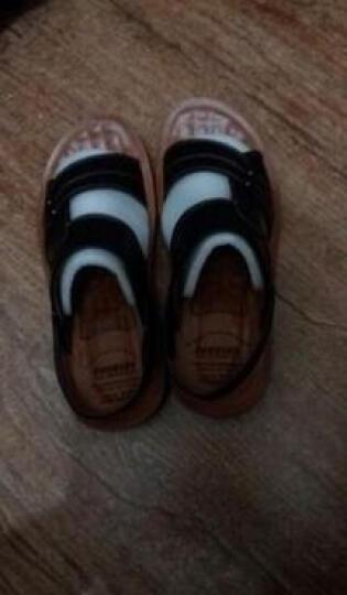 LUCCST  夏季透气凉鞋男 男士真皮凉拖鞋沙滩鞋 休闲男鞋洞洞鞋户外溯溪鞋10622 黑色10622 43 晒单图