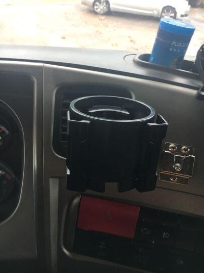 SEIWA 车载烟灰缸带LED灯 汽车出风口水杯架 多功能手机支架置物筒 空调出风口饮料架 收纳盒 W798车载水杯架饮料架 晒单图