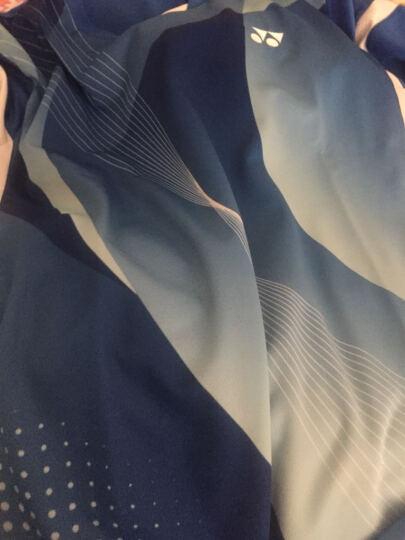 尤尼克斯(YONEX)春夏羽毛球服男女团队比赛服透气轻薄速干网球服运动连衣裙 210157+26006女款蓝色 L码 晒单图