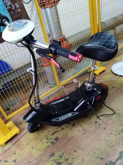 龙吟 女士迷你电动车 成人电动滑板车 小海豚电瓶车代步车 橙色 续航50km+五重好礼 晒单图
