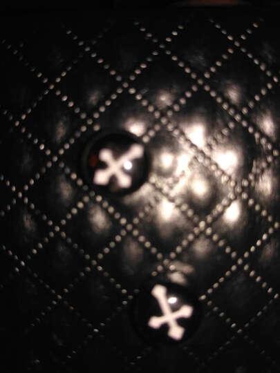 青年吸铁耳夹日韩简约男士吸铁小耳钉无潮钻耳环黑色女个性创意学生饰品 17#十字架耳环一对 晒单图