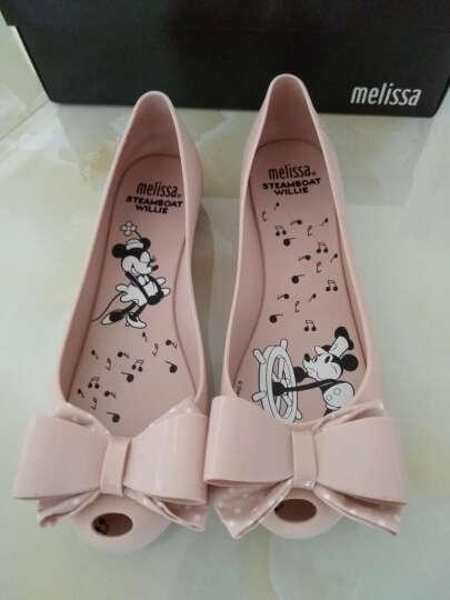 Melissa 梅丽莎女士Ultragirl迪士尼米奇蝴蝶结鱼嘴果冻鞋单鞋32207 黑色BLACK 38 晒单图