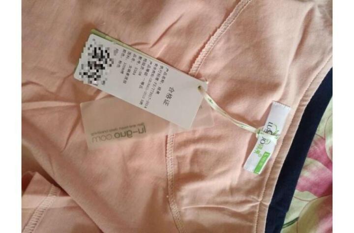 绿果 纯棉睡衣女夏季针织棉短袖卡通女士家居服韩版可外穿睡裙连衣裙 3229 L(165) 晒单图