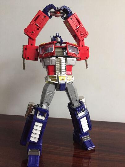 陆霸 威将合金放大版MP10擎天之柱变形玩具金刚 汽车机器人收藏模型玩具 MPP10 晒单图