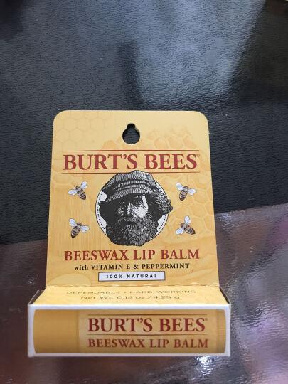 小蜜蜂(BURT'S BEES)美国进口天然 保湿修护儿童 孕妇润唇膏孕妇专用护肤品 蜂蜡 经典款 基本无味薄荷清凉 晒单图