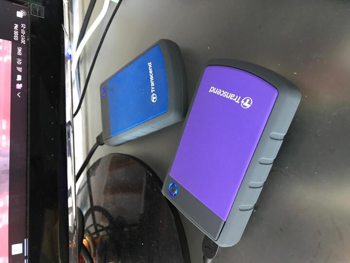 创见(Transcend)240G USB3.1移动固态硬盘ESD220C系列防刮耐磨 时尚轻薄 支持OTG移动设备 晒单图