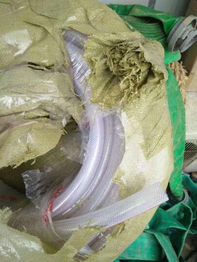 水管塑料管 4分6分1寸PVC塑料水管软管蛇皮管纤维增强管耐寒软管 一件为一米 1寸内直径25毫米 晒单图
