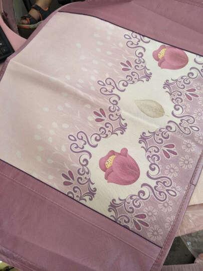 亦如阁可折叠印花冰丝席三件套凉席空调席子夏凉席1.5m1.8米海绵草席 升级款西瓜丸子 150*195cm(含2个枕套) 晒单图