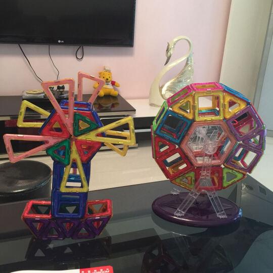 MAG-WISDOM 科博365件磁力片组合套装(228件标配+31件雪撬+37件工程+69件异形拓展包)积木拼装拼插玩具  晒单图