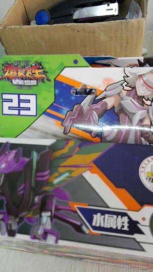 正版奥迪双钻机甲兽神爆裂飞车2代星能觉醒变形儿童玩具包邮暴力暴烈飞车男孩玩具12星座 噬魂战虎683143 晒单图
