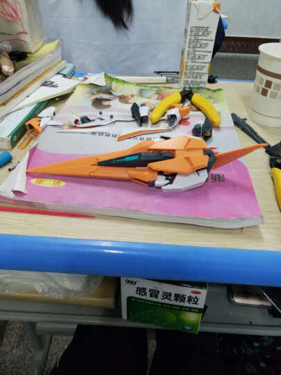 【动漫城】万代bandai hg00高达 1/144拼装敢达模型 玩具 62 正义女神F型 晒单图
