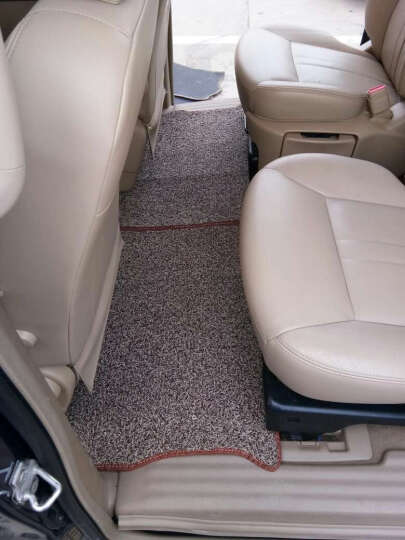 阿乔汽车脚垫全包围包门槛专用 酒红色加酒红色 吉利博越远景SUV帝豪GL帝豪GS博瑞新帝豪熊猫 晒单图