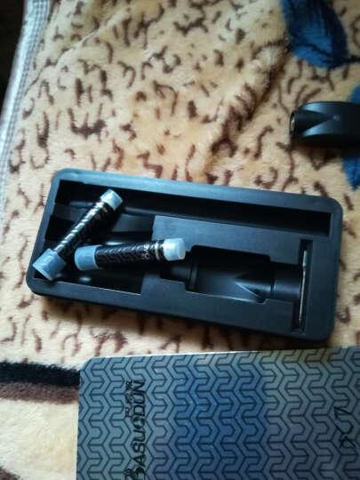 巴索敦X7电子烟套装 仿真香烟口感大烟雾充电循环使用控烟戒烟产品 套餐二(X7套装+烟弹五颗装1组+烟油1瓶) 晒单图