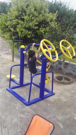 室外健身器材户外小区公园社区广场中老年人体育用品运动路径 落地式双人漫步机 晒单图