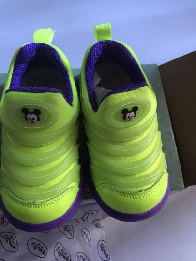 迪士尼 Disney 宝宝学步鞋运动鞋 毛毛虫童鞋休闲鞋0089绿色150mm/内长145mm 晒单图