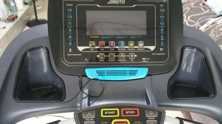 美国捷瑞特JOROTO 家用静音可折叠跑步机 健身房级套装智能跑步机L3+椭圆机ME50 晒单图