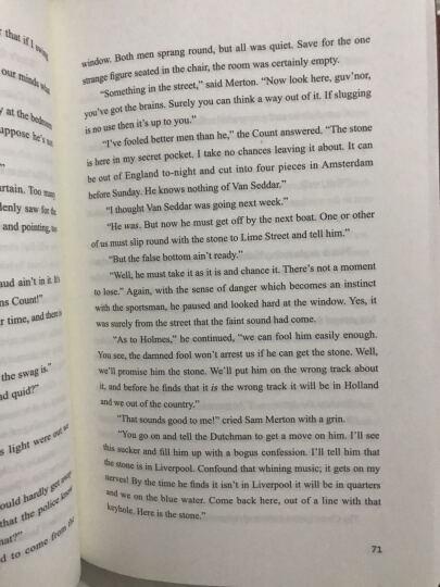 字里行间英文经典:福尔摩斯探案全集之巴斯克维尔的猎犬 晒单图