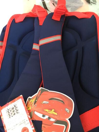 迪士尼书包   小学生书包硬壳韩版 双肩儿童书包 0051宝蓝色 晒单图