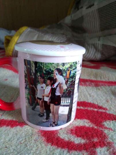 益好 生日礼物情侣变色杯子马克水杯 照片定制创意礼品送男女友朋友情人节礼物 红色亮面 变色杯 晒单图