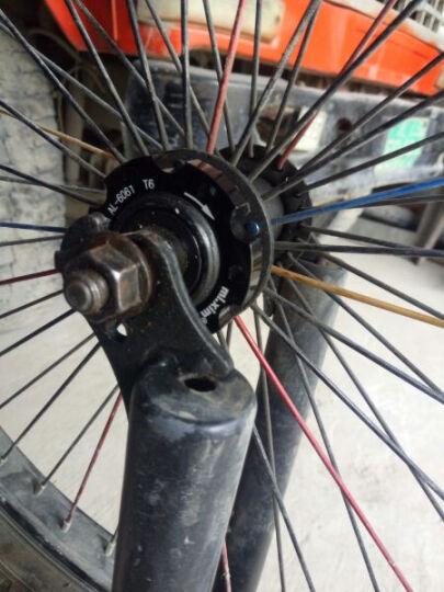 靡西摩(mi.xim) 山地自行车碟刹盘专用转换座碟刹花鼓转换法兰碟片转换座碟片底座 FL44法兰座一个-对孔距44毫米 晒单图