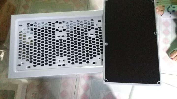 爱国者(aigo) 黑曼巴 白色 中塔式机箱(支持ATX主板/配2把静音风扇/宽体0.7MM厚五金) 晒单图