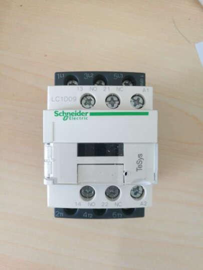 施耐德Schneider交流接触器 LC1D09...C 线圈可选 LC1D09 9A 1开1闭 普票价 晒单图