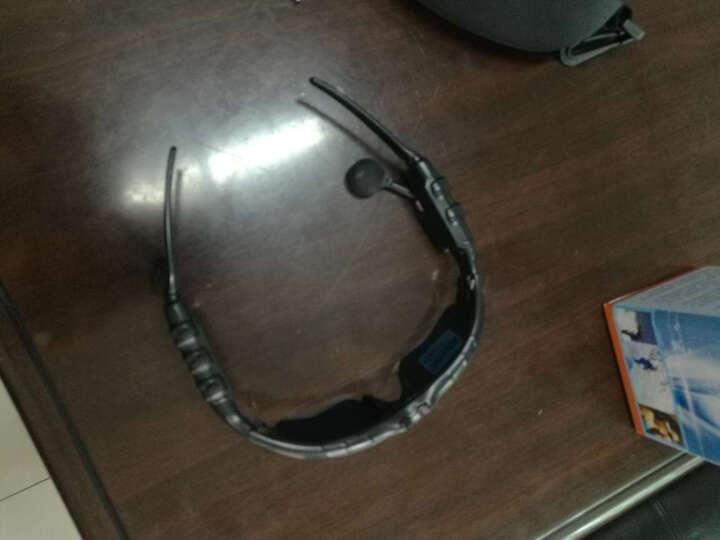 艾贝(iebuy) 智能蓝牙耳机通用4.1太阳眼镜听歌打电话车载无线苹果华为OPPO手机 黑色眼镜(语音报电量/号码+送两副镜片) 晒单图