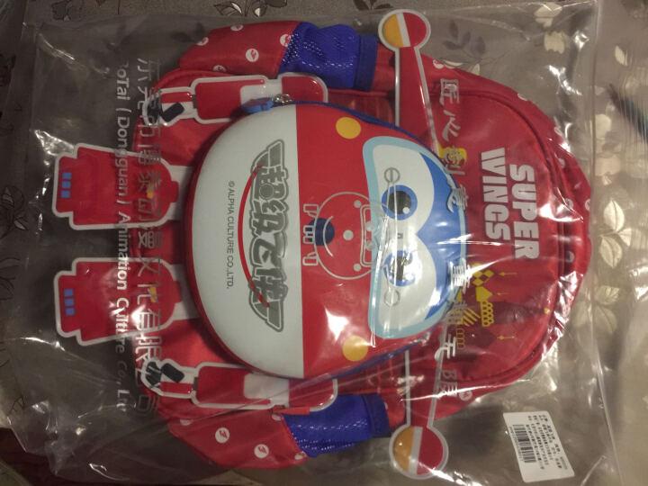【动漫城】超级飞侠幼儿园书包男女3-6岁宝宝小卡通背包儿童学生书包双肩旅行包潮流可爱 乐迪款BS0039 晒单图