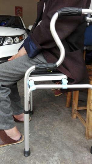 卫宜康 助行器四脚拐杖 可折叠轻便 带座带轮铝合金助行架老人 单带坐宽 晒单图