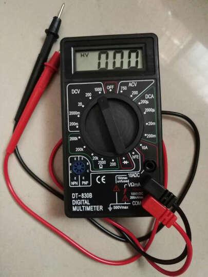 LEIERDA 雷尔达 数字万用表 家用万能表 数显式测量表 VC890D 晒单图