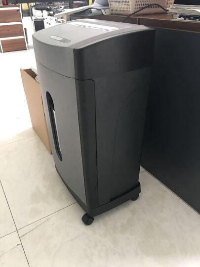 范罗士(Fellowes)46Ms 办公家用碎纸机(5级保密粒状/低噪音/安全触停/单次碎纸12张) 晒单图