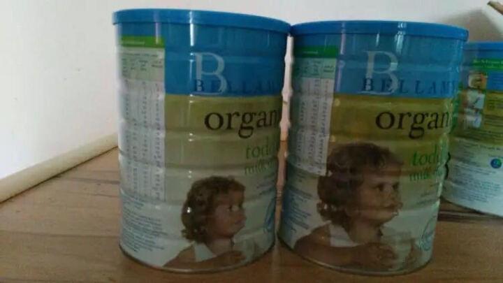 贝拉米(Bellamy's Organic) 【澳洲直邮】 BELLAMY'S  贝拉米奶粉 3段 晒单图